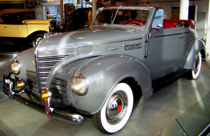 1939 Plymouth Convertible Coupe I