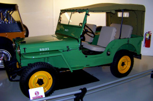 1945 Willys Overland Jeep CJ 2A