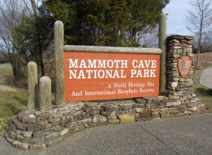 Entering Mammoth Cave National Park