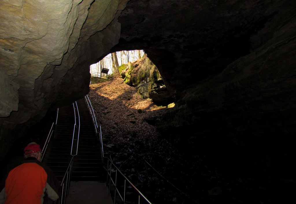 Leaving Mammoth Cave