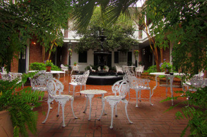 Ice House at Provincial Hotel Courtyard