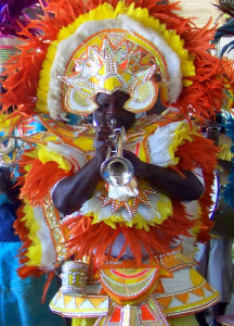 Junkanoo Band at Taino Beach 1