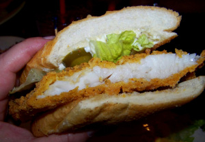 Schiros Catfish PoBoy