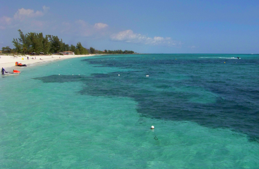 Taino Beach in Freeport, Grand Bahama Island, The Bahamas