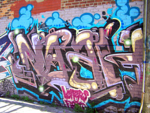 Detroit Graffiti near Orleans and Fisher Fwy N Svc Dr 5
