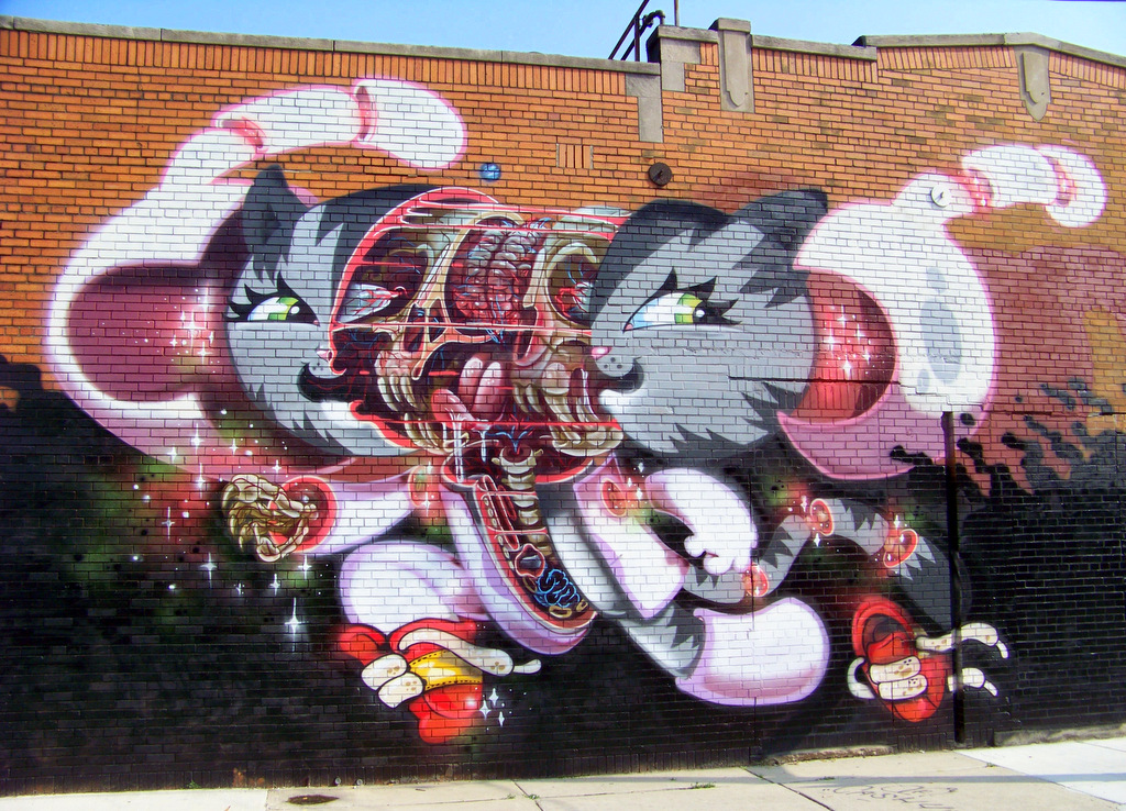 10 New Works of Detroit Street Art in Eastern Market