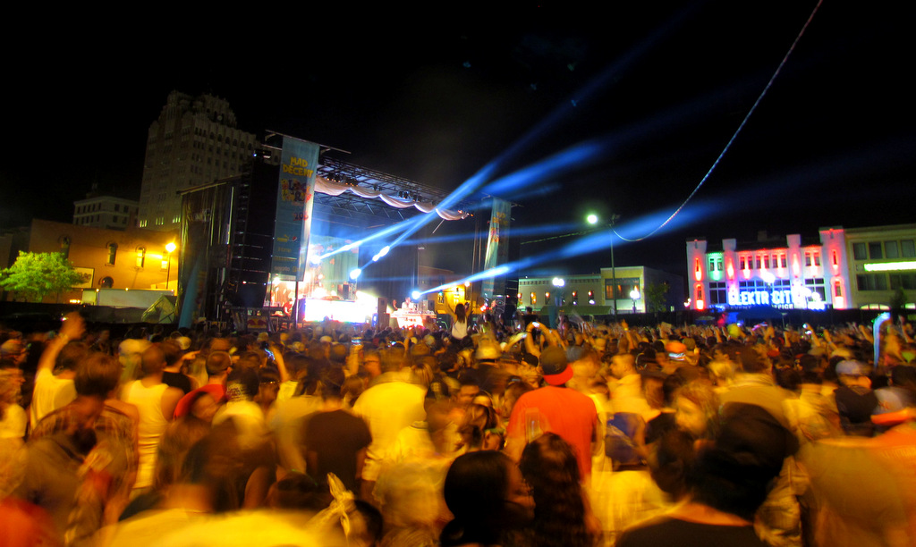 Five Short Reviews of 'Mad Decent Block Party' in Pontiac, 9-6-2013