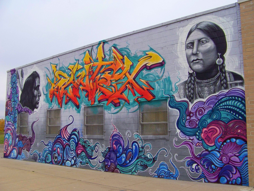 80 New Works of Detroit Street Art in the Grand River Creative Corridor