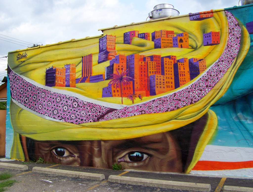 3 New Murals on Joseph Campau Avenue in Hamtramck