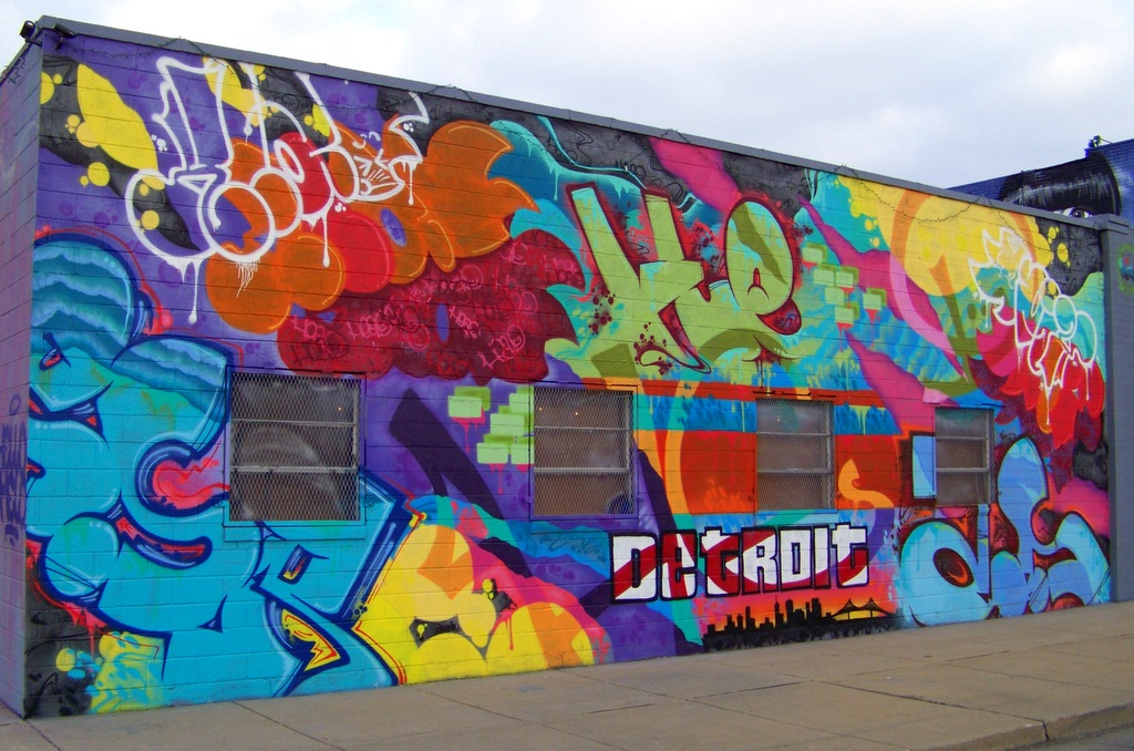 27 New Works of Detroit Street Art in the Grand River Creative Corridor