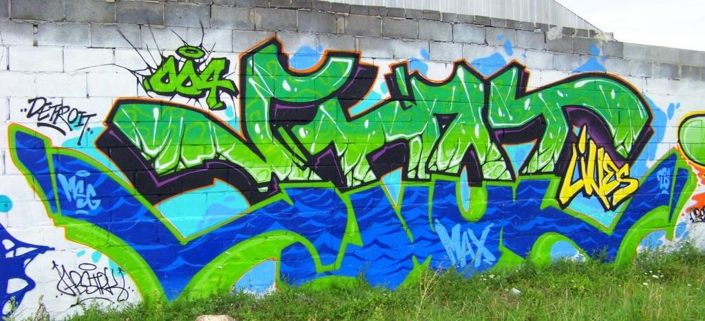 New Grand River Street Art May 2015 6