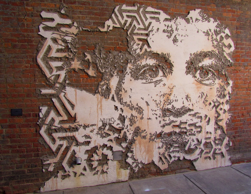 Vhils Scratching The Surface 1