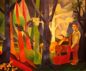 3 Campendonk In the Forest 1919