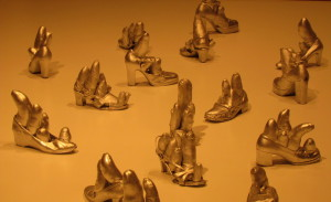 7 Kusama Silver Shoes 1977