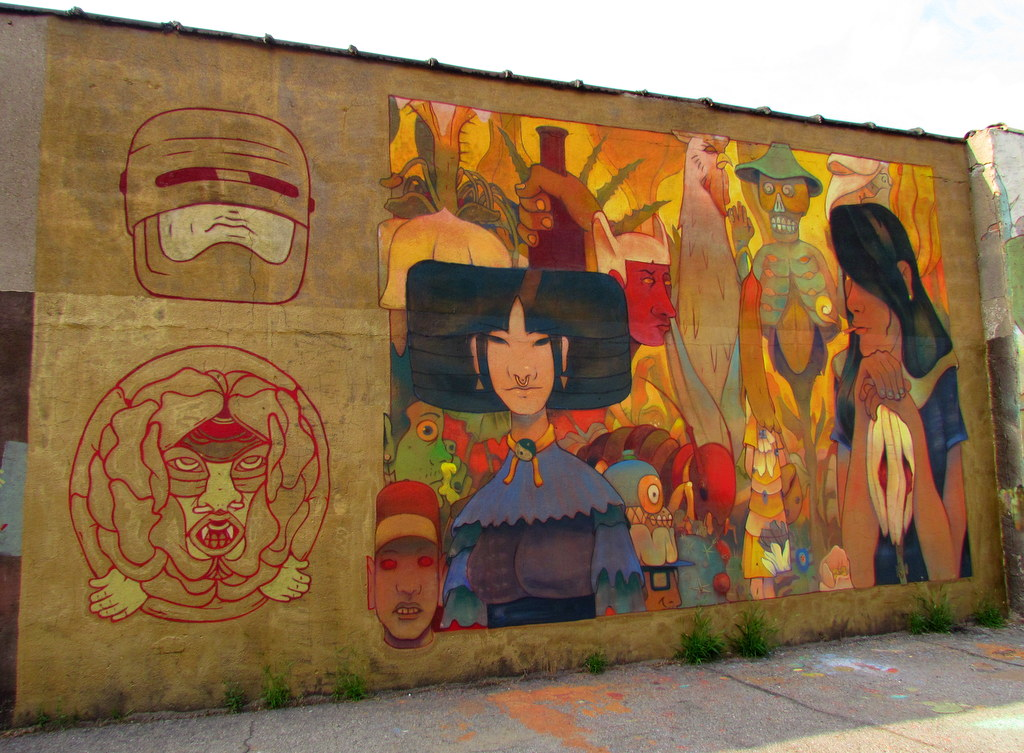 Detroit Street Art – 35 New Works – Autumn 2015