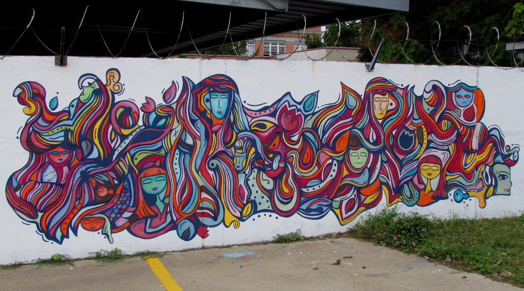 I Love Detroit Mi Street Art Of Deep Ellum Dallas
