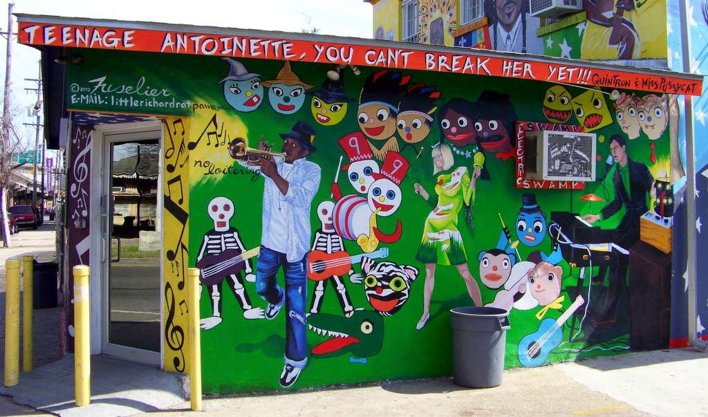 New Orleans Street Art, Murals & Graffiti Revisited