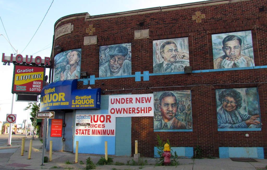 "Nicole Macdonald's ""Detroit Portrait Series: Black Bottom & Paradise Valley"" @ Gratiot Ave & St Joseph, Detroit"