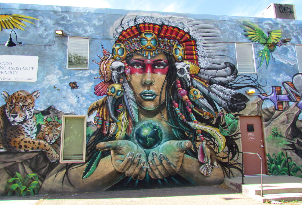Street Arts of Denver, Colorado ~ June 2018